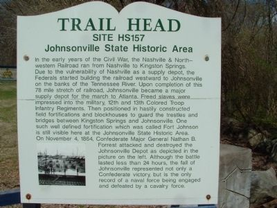 Trail Head Marker image. Click for full size.