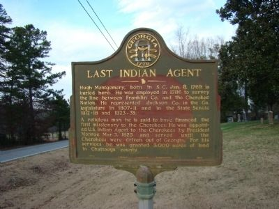Last Indian Agent Marker image. Click for full size.