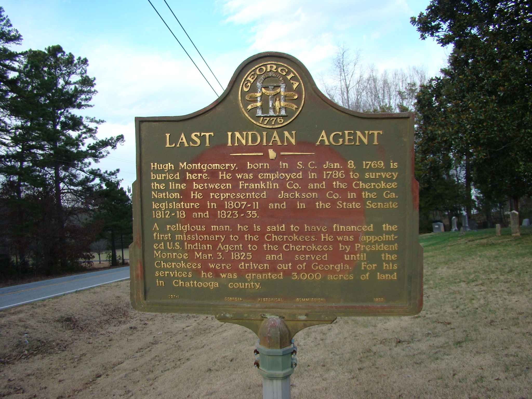 Last Indian Agent Marker