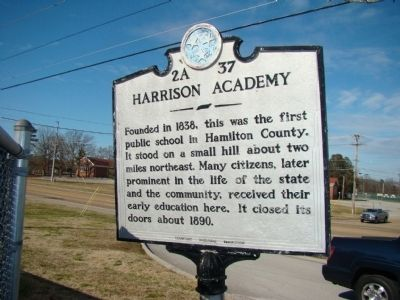 Harrison Academy Marker image. Click for full size.