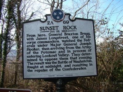 Sunset Rock Marker image. Click for full size.