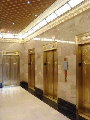 Carbide and Carbon Building Elevators image. Click for full size.