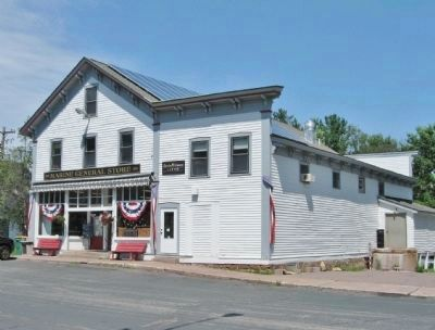 Former Marine Lumber Company Store image. Click for full size.