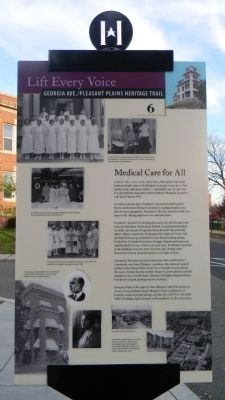 """Medical Care for All"" Marker image. Click for full size."
