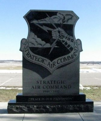Strategic Air Command Memorial (Side A) image. Click for full size.