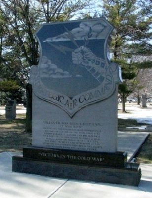 Strategic Air Command Memorial (Side B) image. Click for full size.