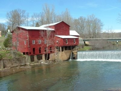 The Mill built in the 1890s. image. Click for full size.