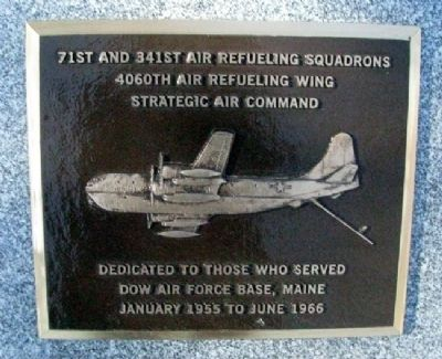 71st and 341st Air Refueling Squadrons Marker image. Click for full size.