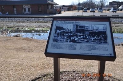 The Old Tishomingo Hotel Marker image. Click for full size.