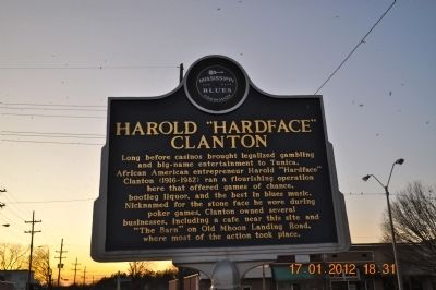 "Harold ""Hardface"" Clanton Marker image. Click for full size."