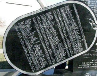 Forward Air Controllers Memorial Honor Roll (Side B) image. Click for full size.