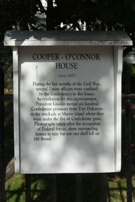Cooper O'Conner House Marker image. Click for full size.