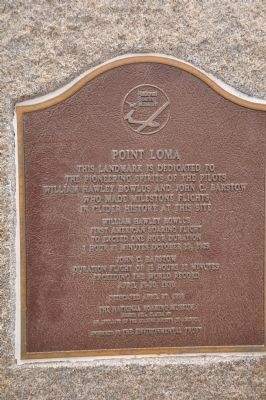 Point Loma Marker image. Click for full size.