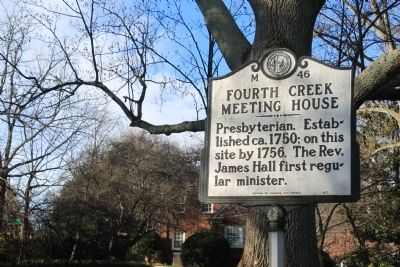 Fourth Creek Meeting House Marker image. Click for full size.