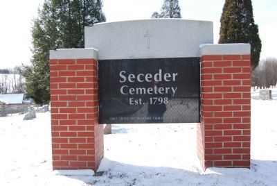 Seceder Cemetery image. Click for full size.