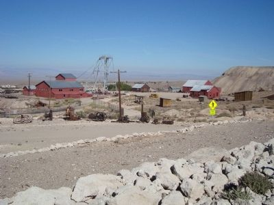 The Tonopah Historic Mining Park image. Click for full size.