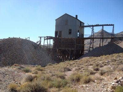 The Grizzly in Tonopah Histoirc Mining Park image. Click for full size.