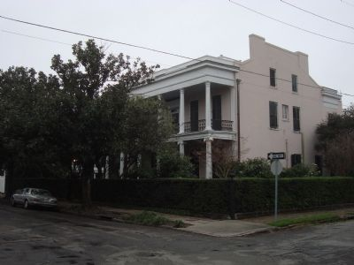 The House in Which Jefferson Davis Died image. Click for full size.
