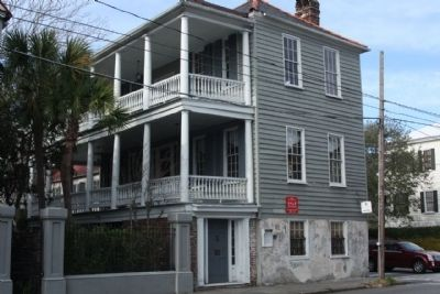 The Benjamin DuPré House and Marker, 317 East Bay Street (US 52) image. Click for full size.