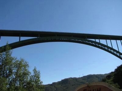 Cold Spring Canyon Arch Bridge image. Click for full size.