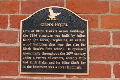 Gilpin Hotel Marker image. Click for full size.