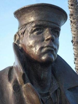 Lone Sailor Statue image. Click for full size.