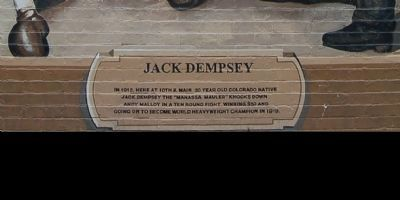 Jack Dempsey Marker image. Click for full size.