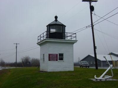 Cape Vincent Lighthouse image. Click for full size.