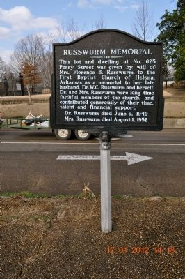Russwurm Memorial Marker image. Click for full size.