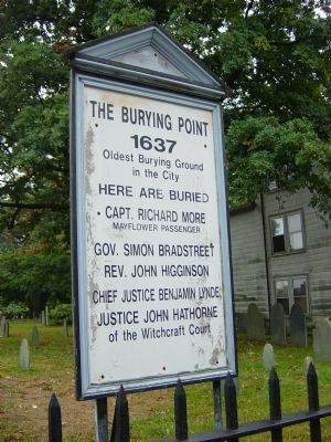 The Burying Point Marker image. Click for full size.