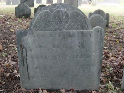 Typical Stone in Graveyard image. Click for full size.