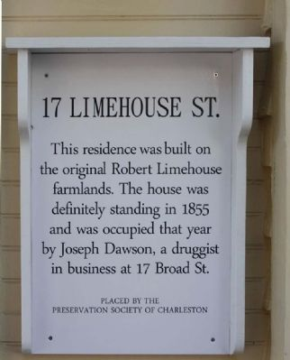 17 Limehouse Street Marker image. Click for full size.