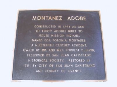Montanez Adobe Marker image. Click for full size.