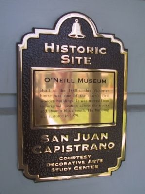 O'Neill Museum Marker image. Click for full size.