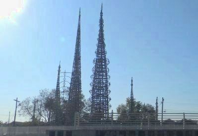 Watts Towers of Simon Rodia State Historic Park image. Click for full size.