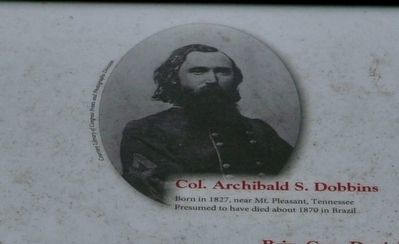 Col. Archibald S. Dobbins image. Click for full size.
