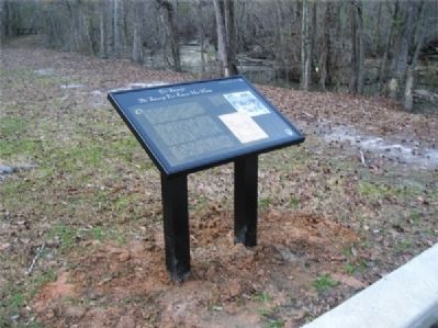 Ox Swamp: The Swamp Fox Earns His Name Marker image. Click for full size.