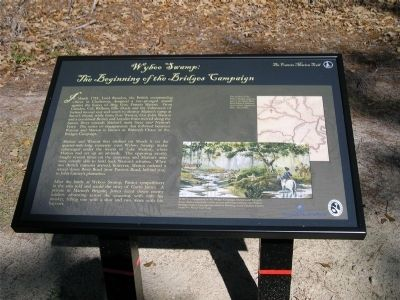 Wyboo Swamp: The Beginning of the Bridges Campaign Marker image. Click for full size.