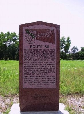Route 66 Marker image. Click for full size.