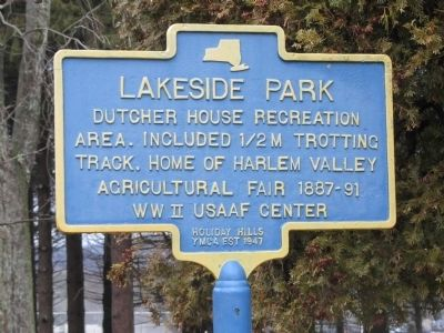 Lakeside Park Marker image. Click for full size.