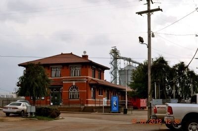 The Delta Cultural Center ~ Train Depot image. Click for full size.