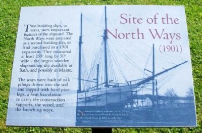 Site of the North Ways (1901) Marker image. Click for full size.