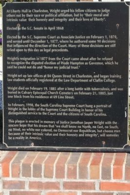Jonathan Jasper Wright Marker, right panel image. Click for full size.
