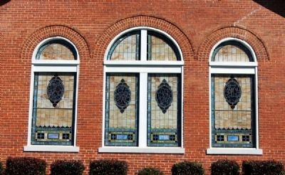 Lebanon Baptist Church<br>Southwest Window Panes image. Click for full size.