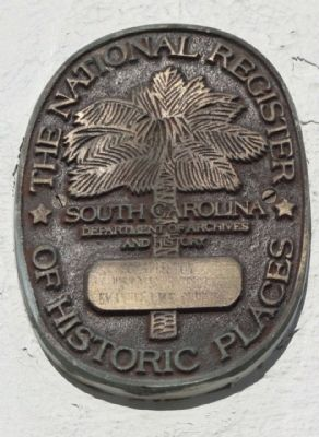 Emanuel AME Church Medallion, added 1970 - - #70000923 image. Click for full size.