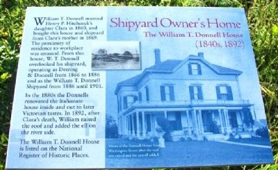Shipyard Owner's Home Marker image. Click for full size.