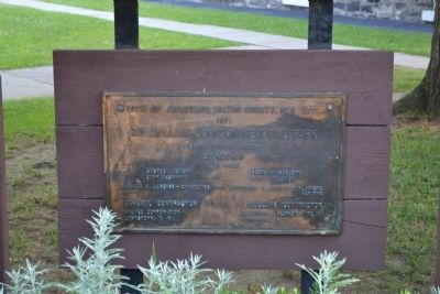 Sir William Johnson Memorial Park Marker image. Click for full size.