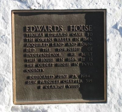 Edwards House Marker image. Click for full size.
