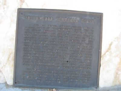 """Cottonwood Charcoal Kilns"" <i>Upper Marker</i> image. Click for full size."