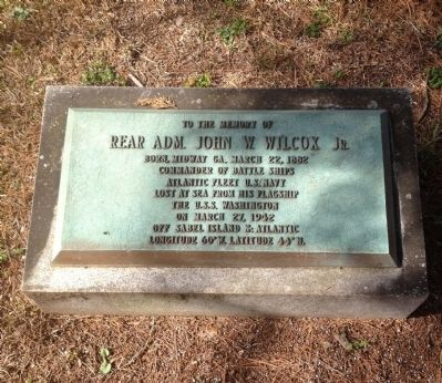To The Memory of John W. Wilcox, Jr. Marker image. Click for full size.